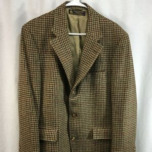 VTG Brooks Brothers Tweed Blazer Jacket Suit Coat